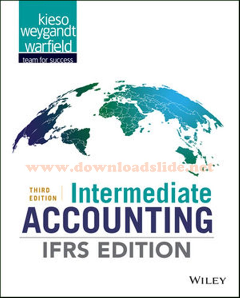 EBOOK / SOLUTION MANUAL / POWERPOINT / TEST BANK. Book Title. : Intermediate  Accounting IFRS Edition