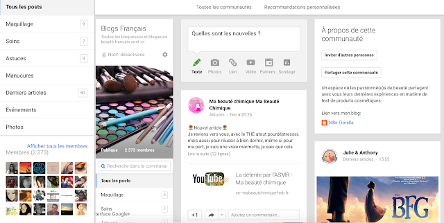 Blogs français