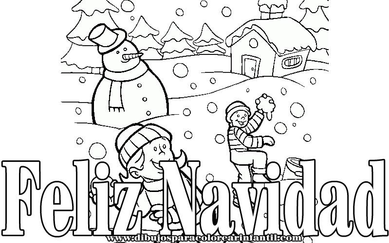 Dibujos Para Colorear On Line De Navidad: Dibujos Para Colorear Online