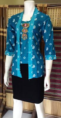 Bluse Batik Unik Untuk Pesta