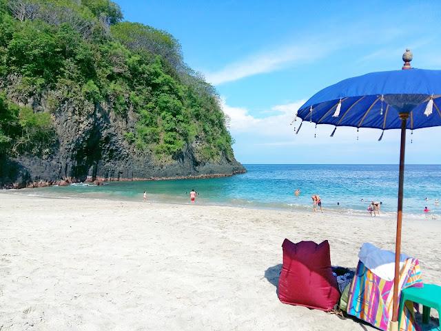 White Sand beach бали