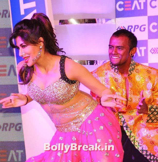Chitrangada Singh, Chitrangada Singh performed at CEAT Cricket Ratings Awards 2014