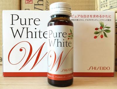 Nước uống collagen của nhật pure white