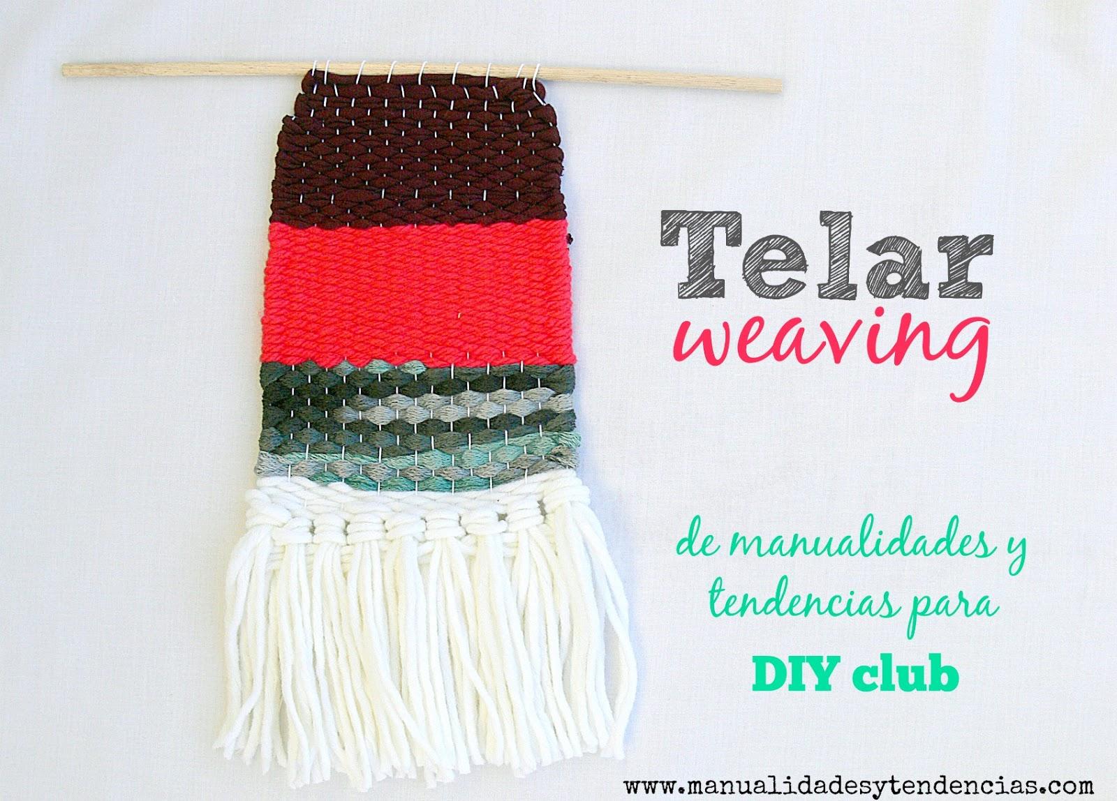 Cómo tejer con telar: weaving - Handbox Craft Lovers | Comunidad DIY ...