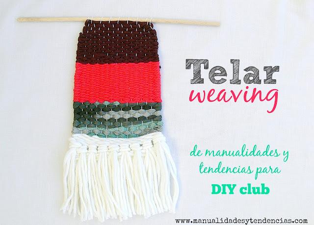 Lecciones básicas de tejer con telar