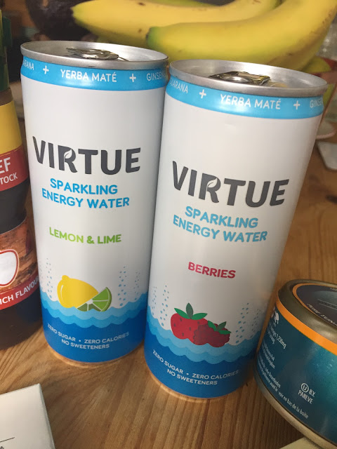 Virtue Drinks: Degustabox contents September 2017