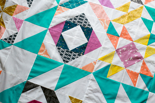 Blockade Quilt Setting Tutorial - In Color Order