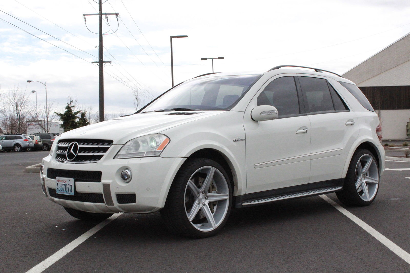 2008 mercedes benz w164 ml63 amg on 22 niche wheels for Amg wheels for mercedes benz