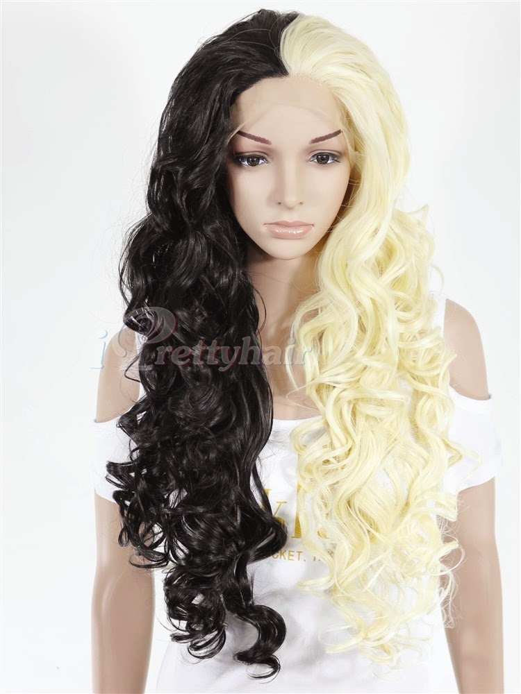 New Arrival Ombre Synthetic Lace Front Wigs From I Pretty Hair