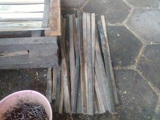 bambu untuk jepit baki