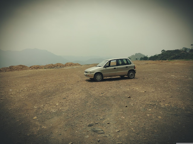My Car which took us to those heights and beautiful place