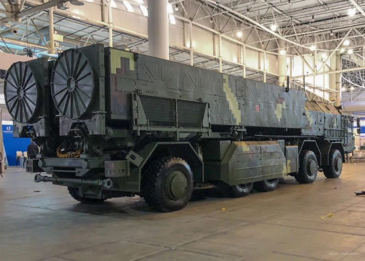 the Grim-2 tactical missile system