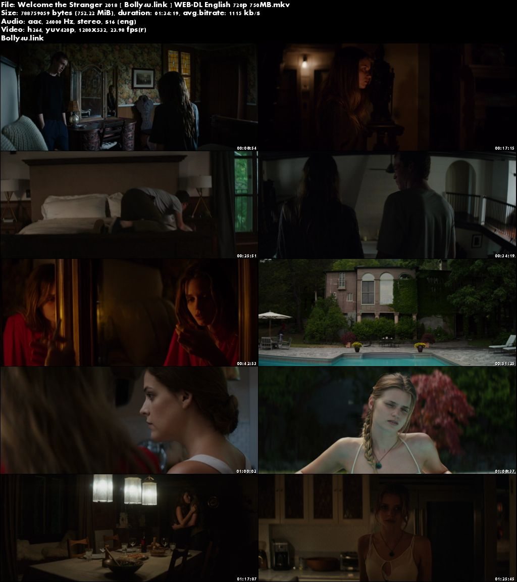 Welcome the Stranger 2018 WEB-DL 750MB English 720p Download