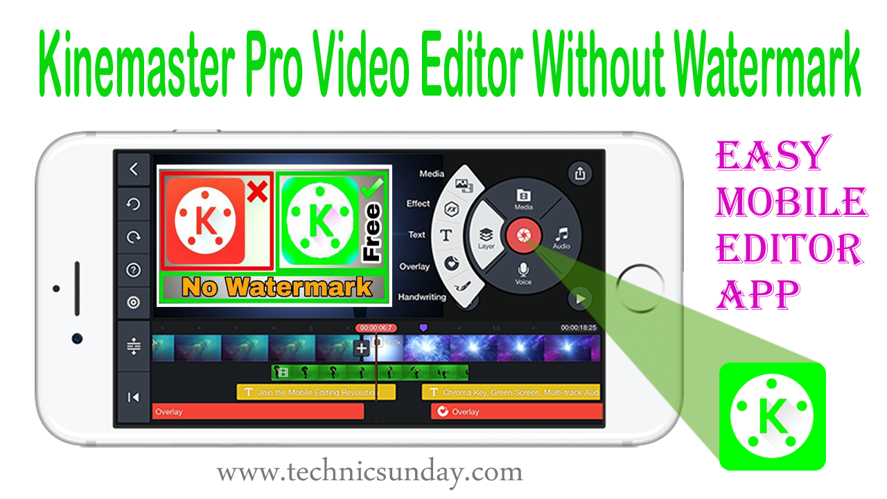 Kine master Pro Video Editor Without Watermark Free Download