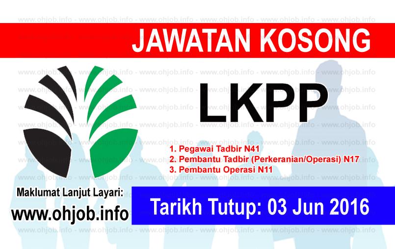 Jawatan Kerja Kosong Lembaga Kemajuan Perusahaan Pertanian Negeri Pahang (LKPP) logo www.ohjob.info jun 2016