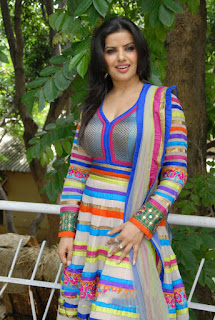 telugu_actress_madhu_sharma_colorful_churidar_dress_mm_movies_muhur