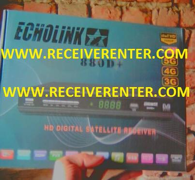 ECHOLINK 880D+ HD RECEIVER POWERVU KEY OPTION