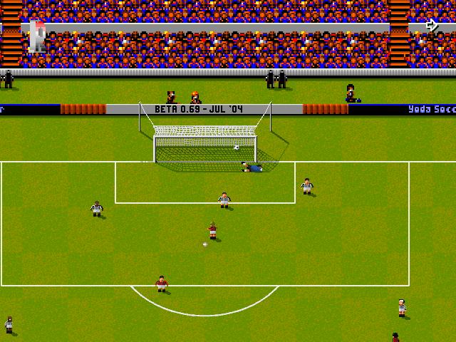 YSoccer - Δωρεάν κλώνος του Sensible Soccer