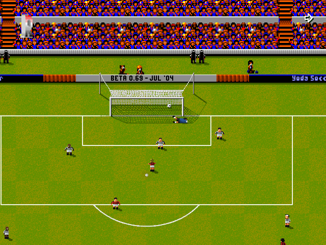 Yoda Soccer - Καταπληκτικό παιχνίδι, στα χνάρια του Sensible Soccer