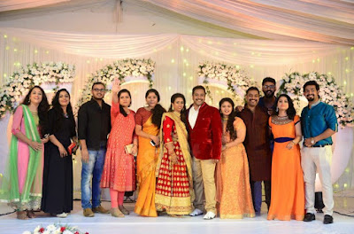 Dancer Biju Dhwani Tarang wedding reception _99