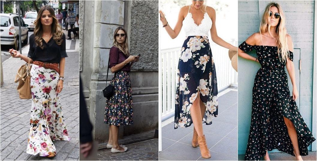 Maxi Floral Tendência Primavera/Verão 2018