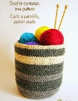 http://chabepatterns.com/free-patterns-patrones-gratis/home-hogar/crochet-container-cesto-a-ganchillo/