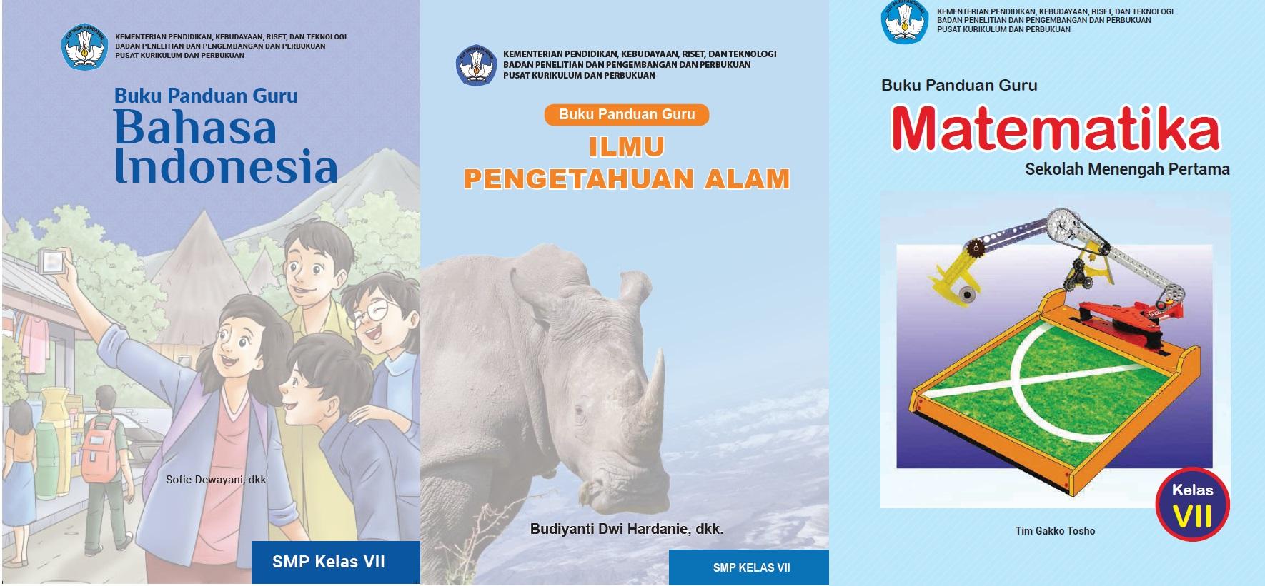 Download Buku Guru dan Buku Siswa Satuan Pendidikan Sekolah Menengah Pertama (SMP) Kelas VII (Tujuh) Sekolah Penggerak