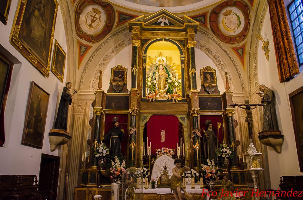 Lugares de granada con encanto convento de los ngeles - Los angeles granada ...