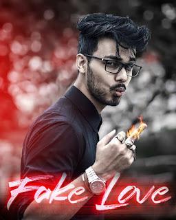 Fake love photo editing