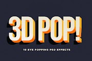 PSD إضافة تأتير 3D للنصوص