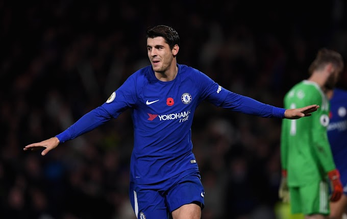 Chelsea 1 Manchester United 0: Morata header gives Blues deserved win