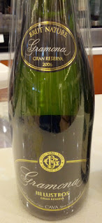 Gramona Iii Lustros Gran Reserva Brut Nature Cava 2006 from DO Cava, Penedès, Spain (92 pts)