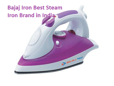 Bajaj Iron Best Steam Iron Brand in India