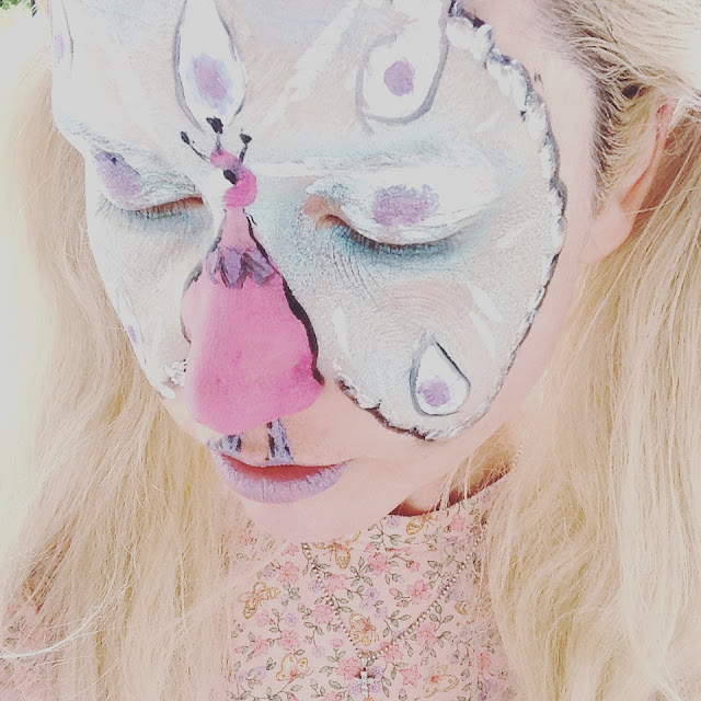 face paint fairy tale