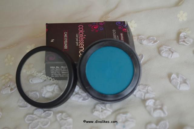 Coloressence Cake Eyeliner CE-2 Tourquish Blue Packaging
