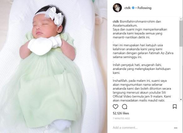 Bayi Siti Nurhaliza