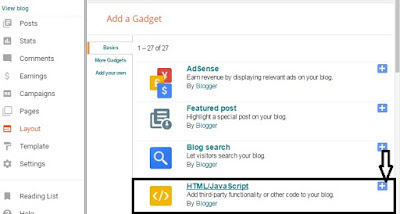 Blog Email Subscription Widget
