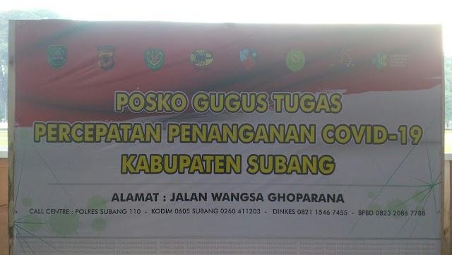 Inilah Wilayah PSBB Parsial di Subang