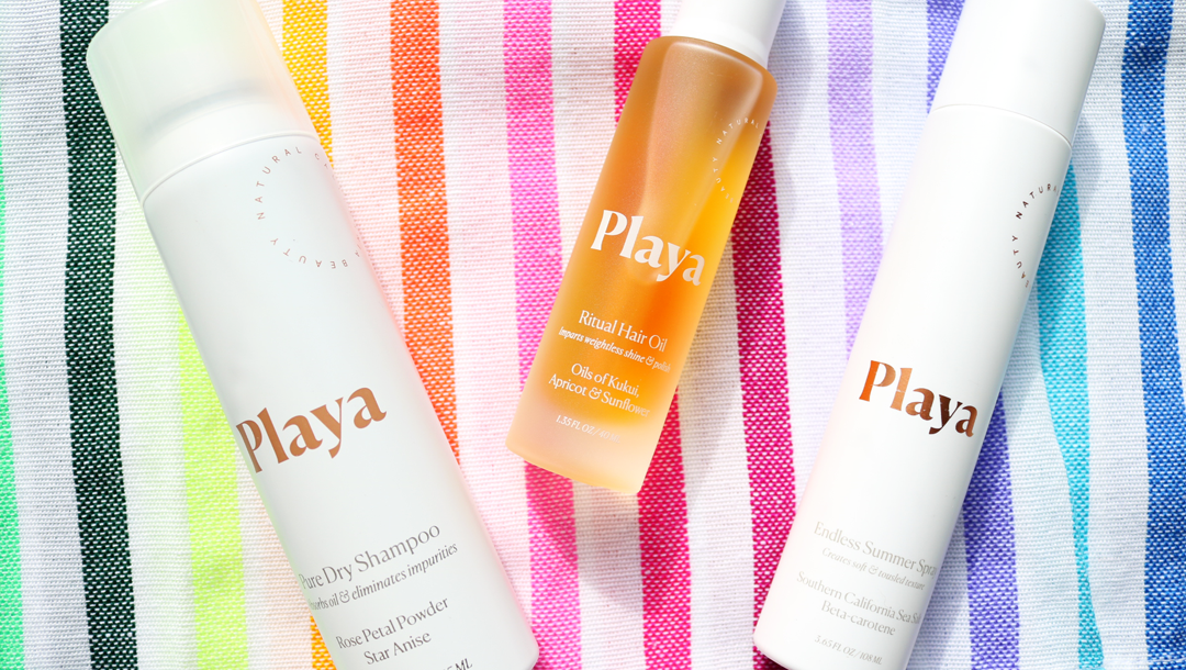 Playa Pure Dry Shampoo, Ritual Hair Oil & Endless Summer Spray review