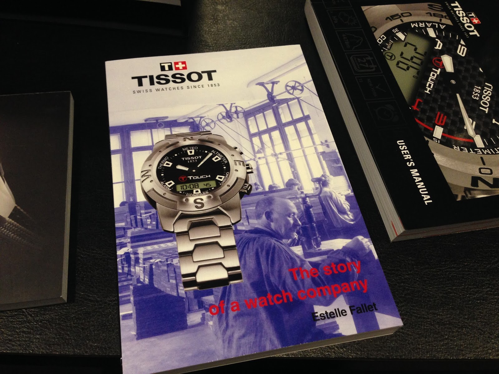 tissot 1853 t touch smart watch manual