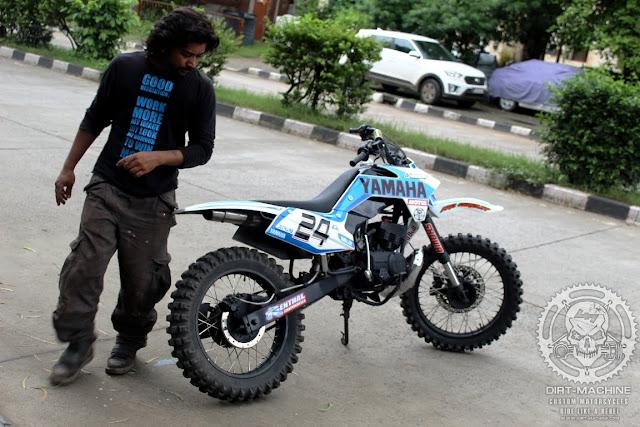 yamaha rx135 dirt bike