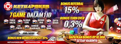 KETUAPOKER88.COM - Poker Online Indonesia Terbaik & Terpercaya