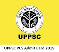 UPPSC PCS Admit Card