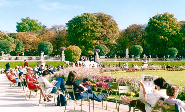 The outlander plant guide le jardin luxembourg paris for Jardin in french