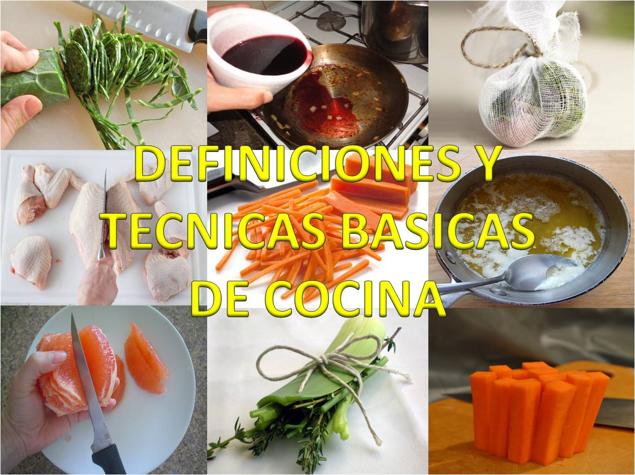 carol gourmet cocina postres y algo mas productos On tecnicas de cocina profesional