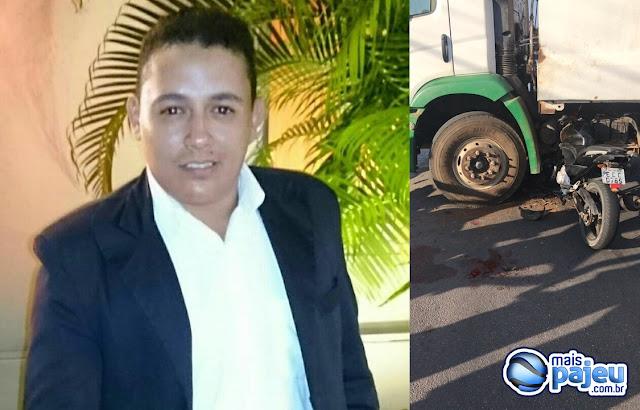 Acidente deixa um jovem gravemente ferido em São José do Egito