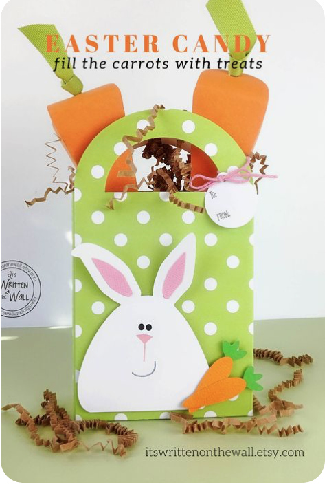 Easter Bunny & Carrot Treat Boxes