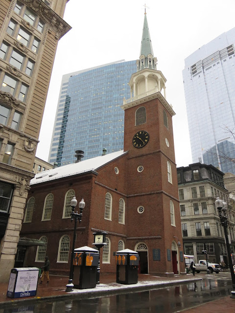 Venture & Roam: Old South Meeting House in Boston, Boston Tea Party