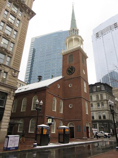 Venture & Roam: Old South Meeting House in Boston, Boston Tea Party