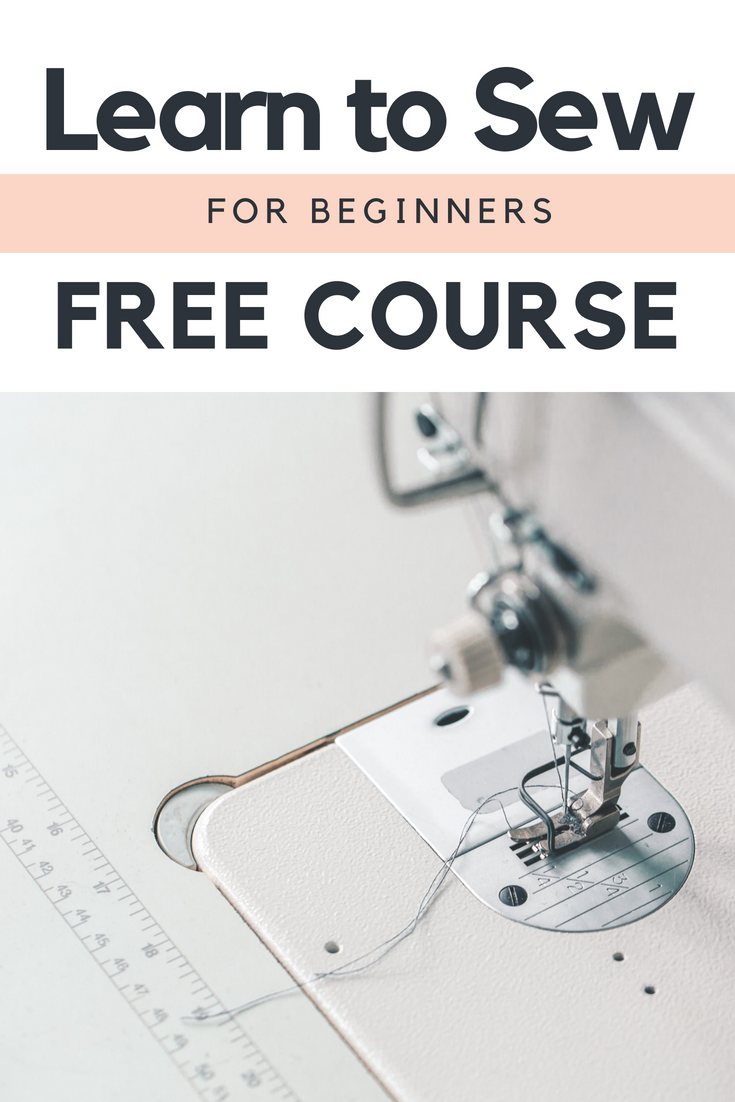 Learn to Sew Online with Sewing Basics 101 - GYCT Designs